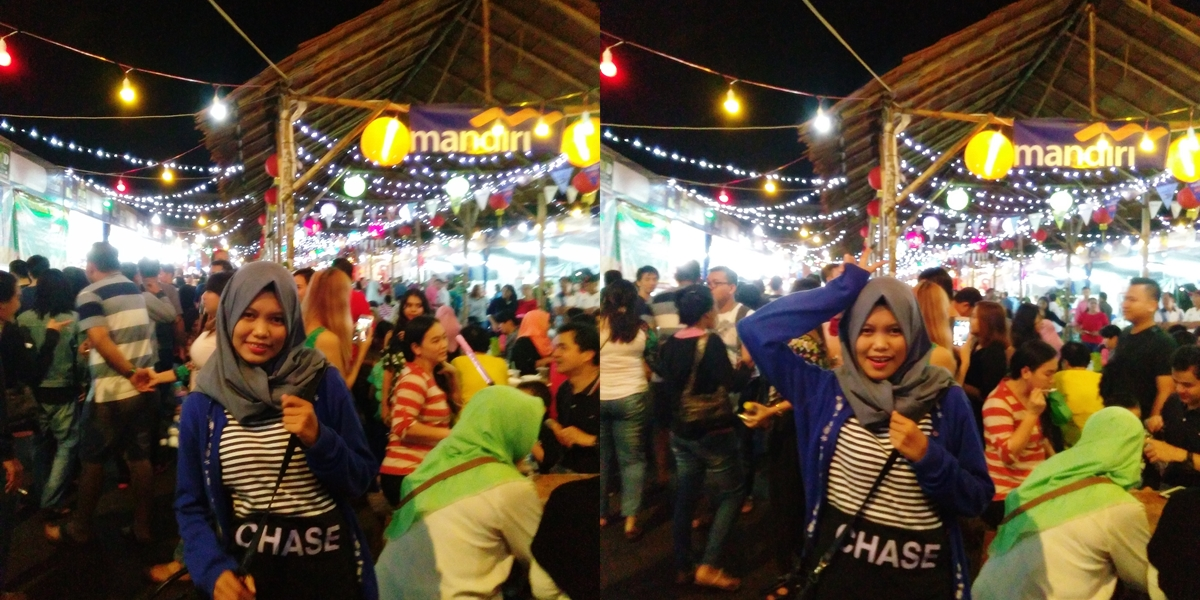Serunya Jajanan di Food Bazaar and Fashion Festival Pontianak