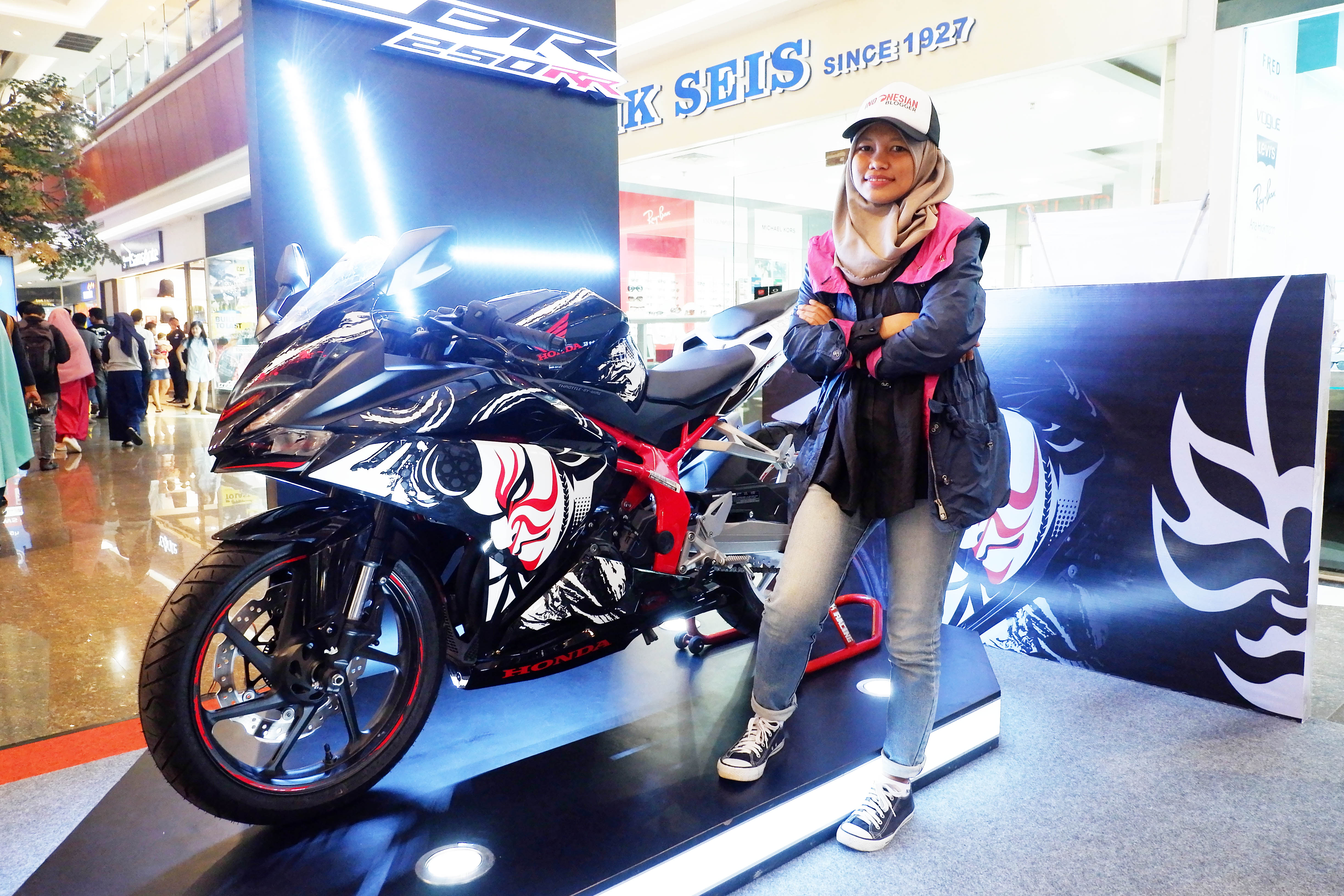 The Art of Kabuki, Kini Terpajang di New Honda CBR250RR Special Edition