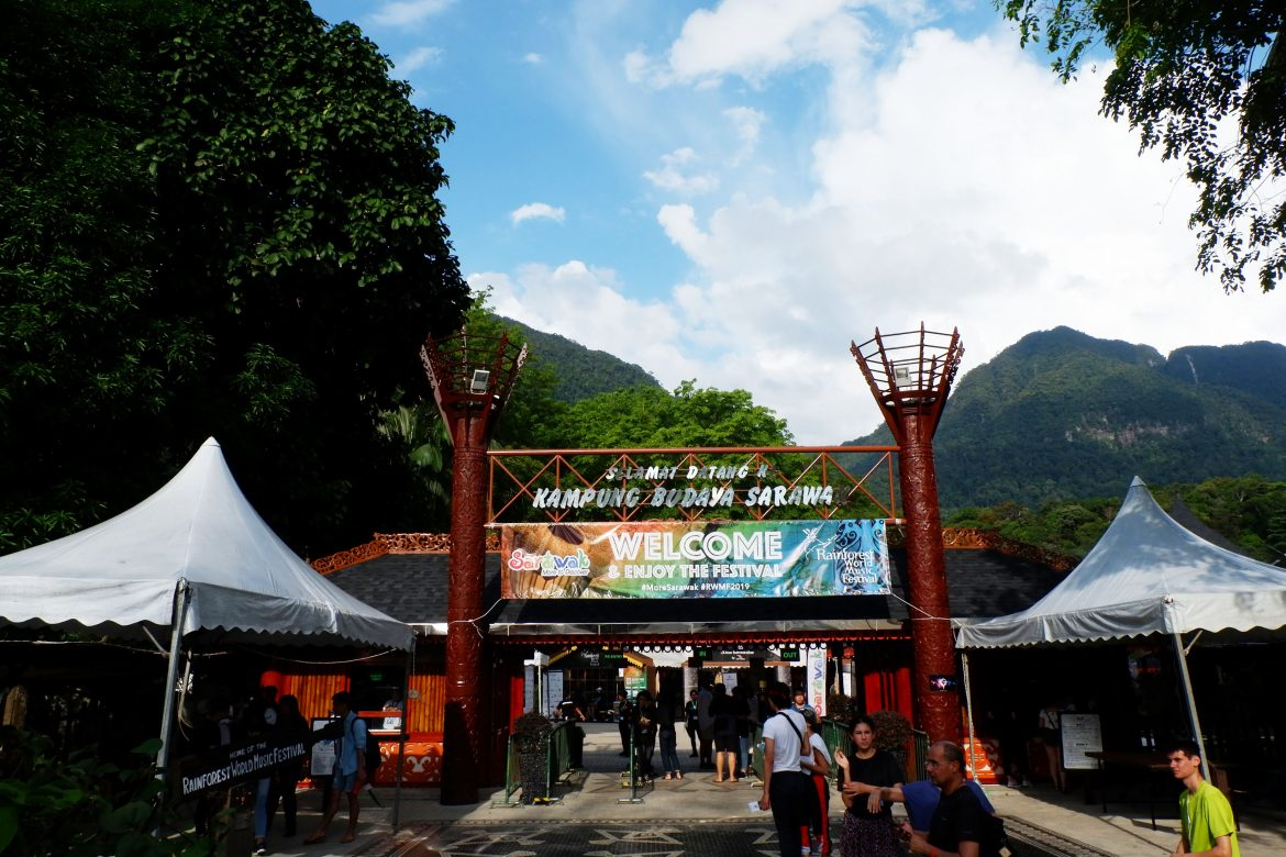 Rainforest World Music Festival 2019 Day 1 : Explore Kawasan Sarawak Cultural Village