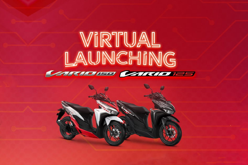 Virtual Launching, New Honda Vario 150 & Honda Vario 125